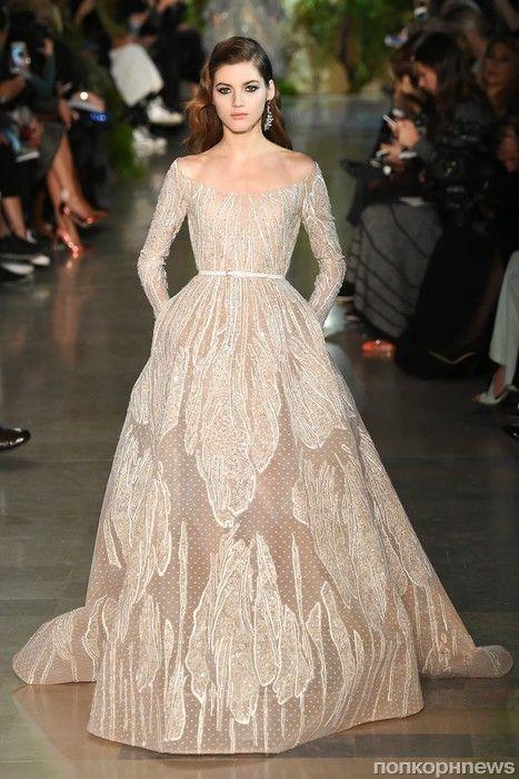 Модный показ новой коллекции ELIE SAAB Couture. Весна / лето 2015- popcornnews