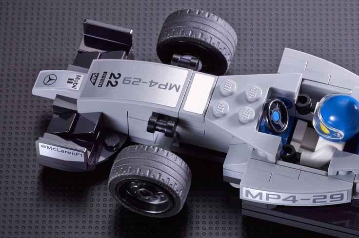LEGO Speed Champions - Provided by MotorTrend. 7 new Lego sets 2015 - McLaren, Porsche, Ferrari.