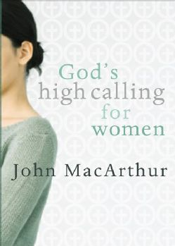@Overstock.com - God's High Calling for Women (Paperback) - The subject of women in the church is both important and controversial. John MacArthur is not afraid of either. In this revised work, MacArthur examines what the Bible teaches in I Timothy 2:9-15. He discusses topics ranging from the attitud... http://www.overstock.com/Books-Movies-Music-Games/Gods-High-Calling-for-Women-Paperback/3464359/product.html?CID=214117 $7.19