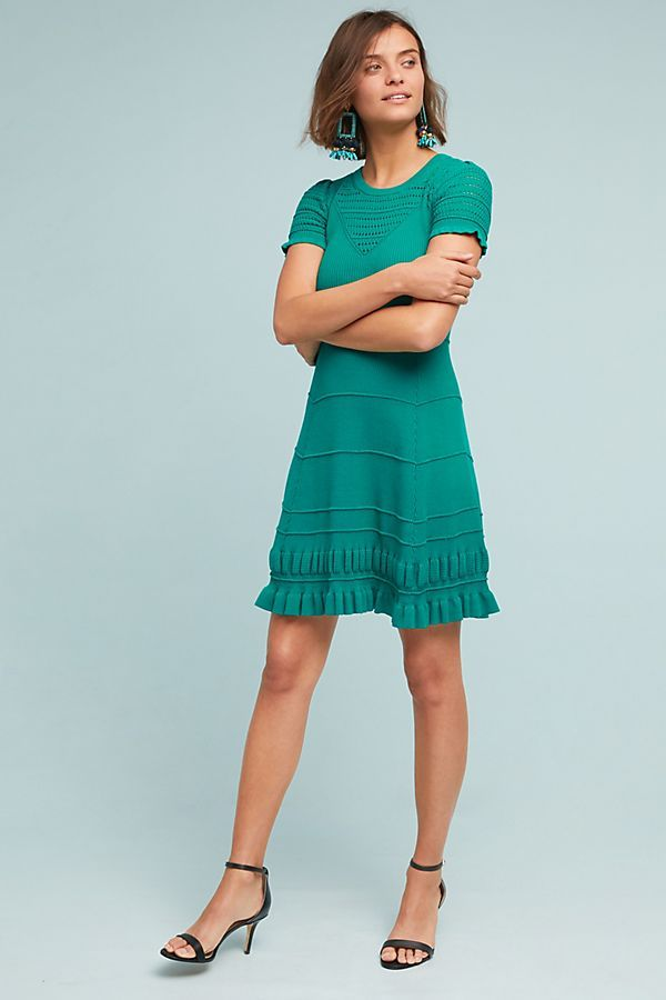 77b8978107d7 Promenade Pointelle Dress in 2019