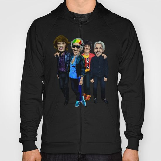 Old Scholl band HOODY UNISEX  @pointsalestore Society6 #Hoody #tshirt #tee #clothing #oil #popart #streetart #music #caricature #parody #people #marshall #rockandroll #rock #cartoons #comedy #humor #classic #rasta #movelikejagger