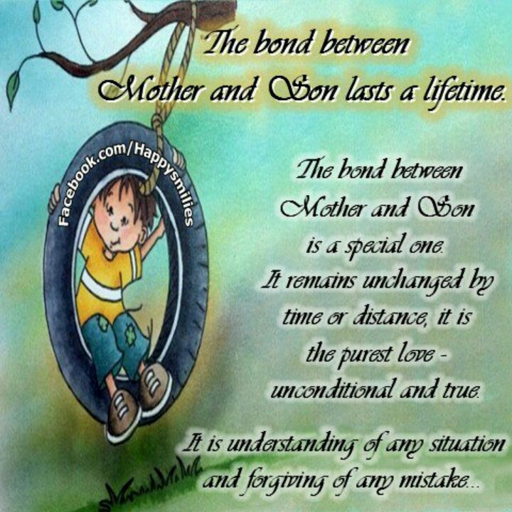 poems about mother son relationship