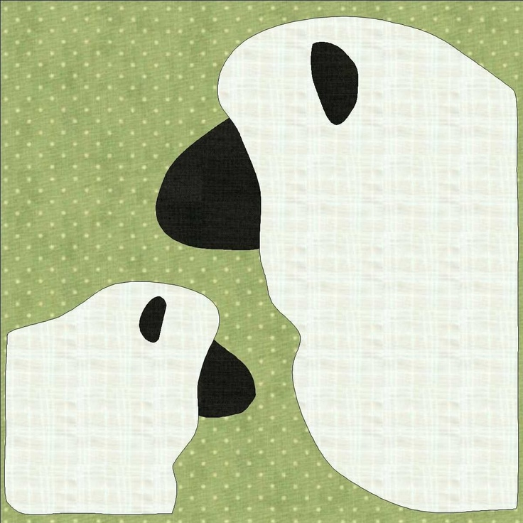 sheep applique template