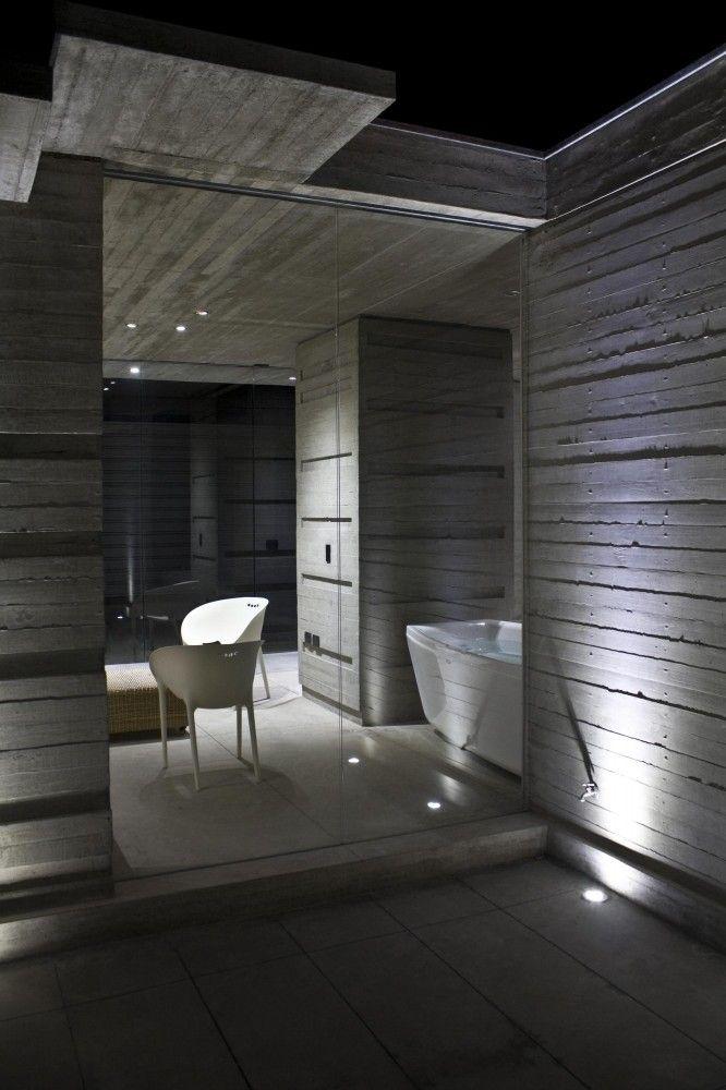 Gallery of between yards xxestudio 14 raumgestaltung und badezimmer - Raumgestaltung badezimmer ...