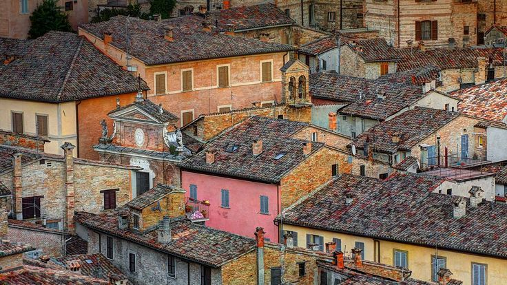 Rooftops in the walled city of Urbino, Italy (© Andrea Pucci/Getty Images) – 2018-02-03 [http://www.bing.com/search?q=Urbino&form=hpcapt&filters=HpDate:%2220180203_0800%22]