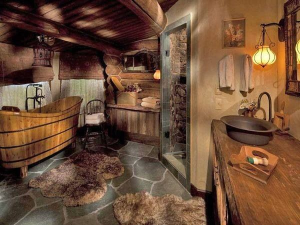 Amazing old country style bathroom