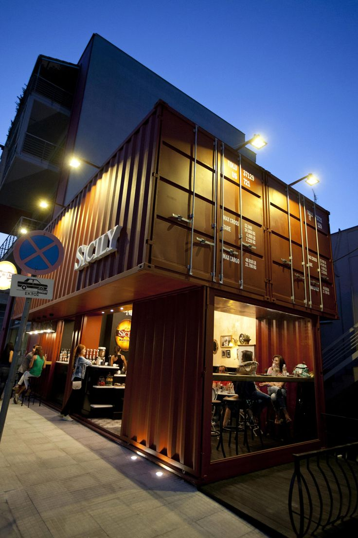 Sicily Container Coffee Shop