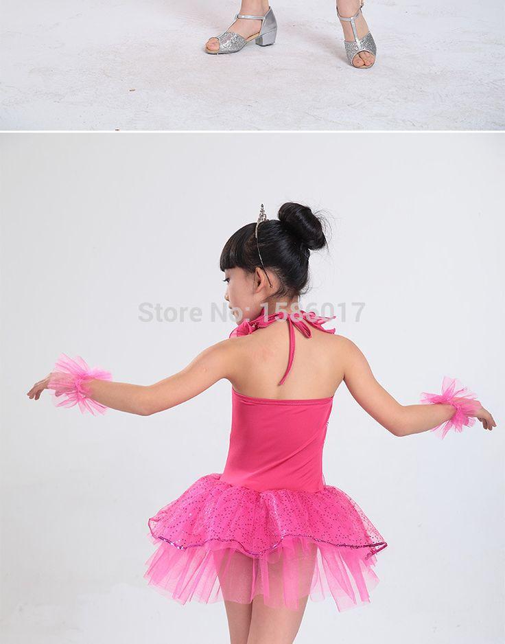 Niños vestido de baile latino vestido de las muchachas de la danza Vestidos chica kids Latin Salsa ballroom dance dress girls Vestidos baile de Salsa en Latino de Novedad y de uso especial en AliExpress.com | Alibaba Group