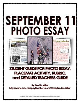 best lesson plans images teaching ideas   11 photo essay handout place mat activity rubric teachers guide