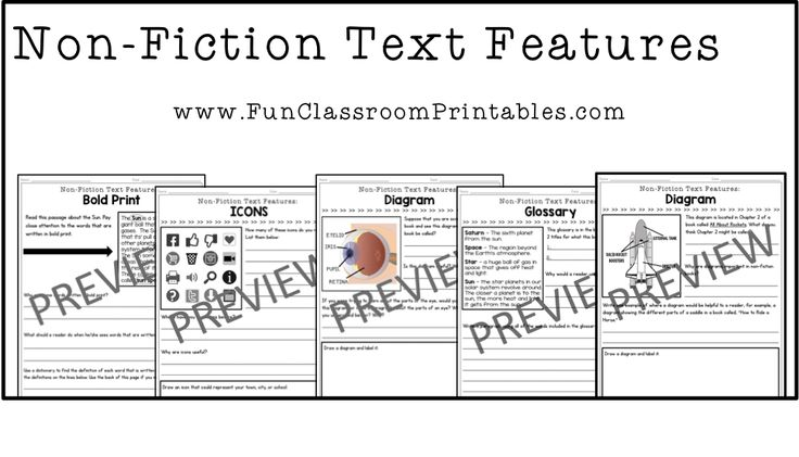 printable worksheets to reinforce non fiction text features such as diagrams bold print icons. Black Bedroom Furniture Sets. Home Design Ideas