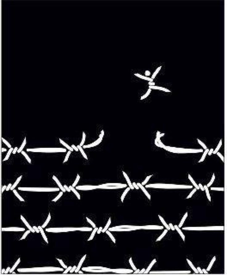 Free yourself from your own 'prison'....unchain yourself from the crowd. I love this