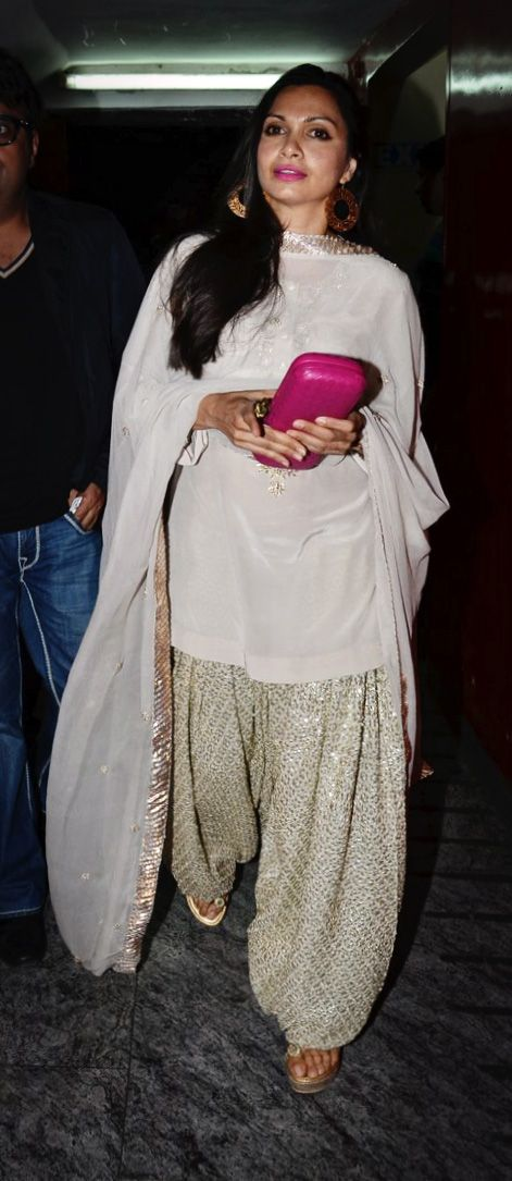 Sometimes a statement salwar is all you need.