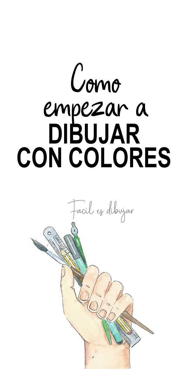 Como Empezar A Dibujar Con Lapices De Color Facil Es Dibujar Lapices De Colores Como Aprender A Dibujar Lapices De Colores Dibujos