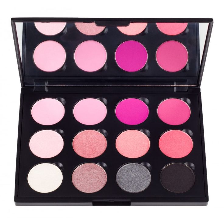 Costal Scents Think Pink eyeshadow palette