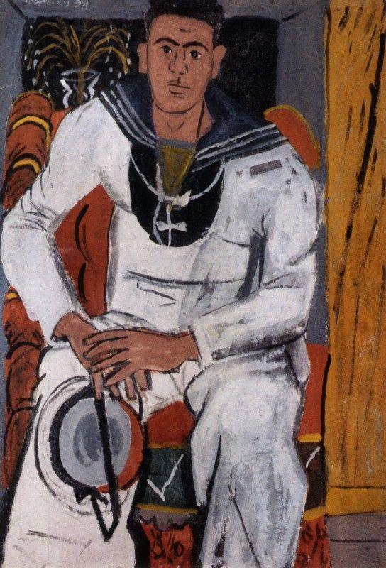 Ναύτης, Γιάννης Τσαρούχης 1938. Συλλογή Δ.Ν.Π.