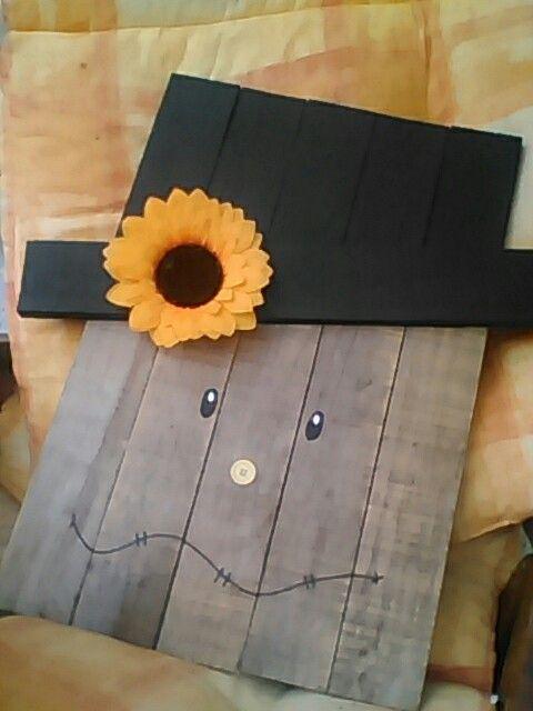 Vogelscheuche herbst scarecrow palette