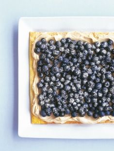 Blueberry Tart (from Donna Hay's website - so many delicious-looking recipes!)