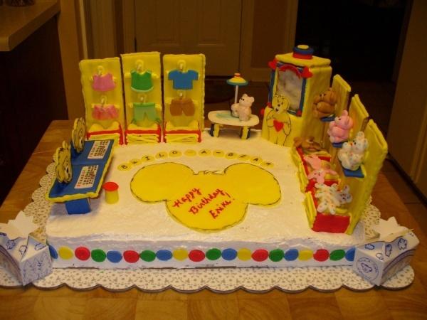 Build-A-Bear birthday cake!