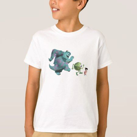 Monsters, Inc. Mike, Sully and Boo Disney T-Shirt - tap, personalize, buy right now!