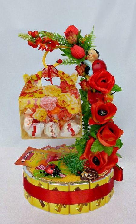 Gallery.ru / Фото #71 - Скульптурные композиции из конфет - iraida60