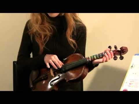 Learn how to play violin quickly and easily with this beginner violin lesson and song tutorial