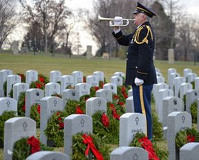 Wreaths Across America   Our Mission: Remember   Honor   & Teach