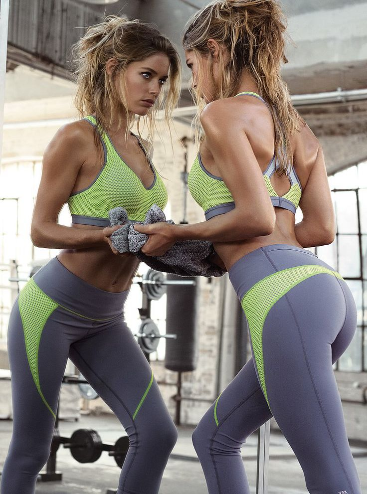 SPORTS HAIR Doutzen Kroes For Victoria's Secret Sports #VSX @Victoria Brown's Secret Sport