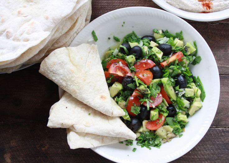 Hurtig frokostsalat - linemad.dk 365 salater på 365 dage