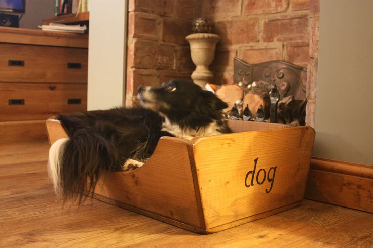 (NEW)Small Dog Bed/Beds/Basket~Wood/Wooden Bed~Old Rustic Style~Home & Garden in Pet Supplies, Dog Supplies, Beds | eBay
