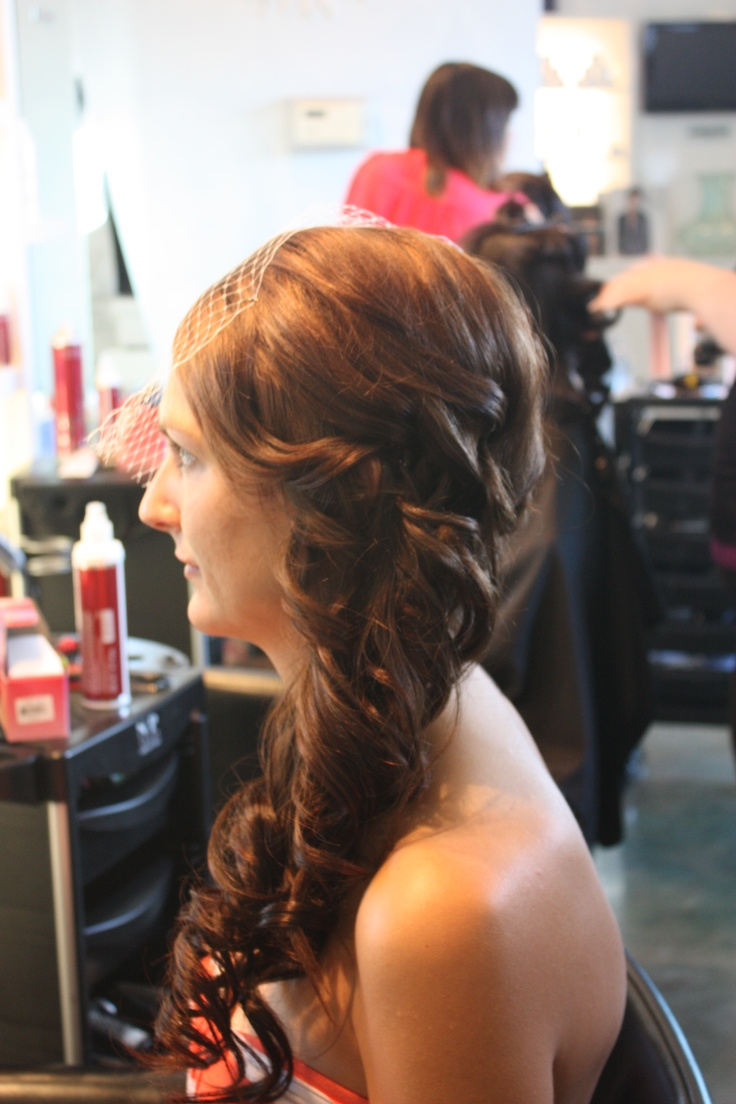 Bridal upstyle by Crystal at La Dolcevita Day Spa and Salon