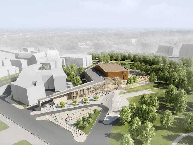 unbuilts: International Architectural Design Competition | Cultural Center and Concert Hall | Torun | Poland | Aedas