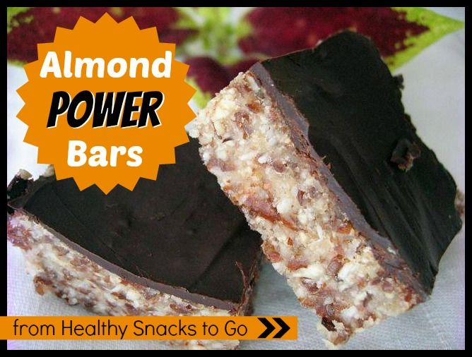 Almond Power Bars from Health Snacks to Go