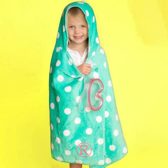 Kids Pool Towel Kids Hooded Towel Baby Beach Towel With Hood