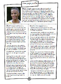 Sandra's powerful one-page profile to support her with her mental health condition. Read it in full here: http://onepageprofiles.files.wordpress.com/2013/11/6-sandras-one-page-profile-from-marianne-selby-boothroyd.pdf