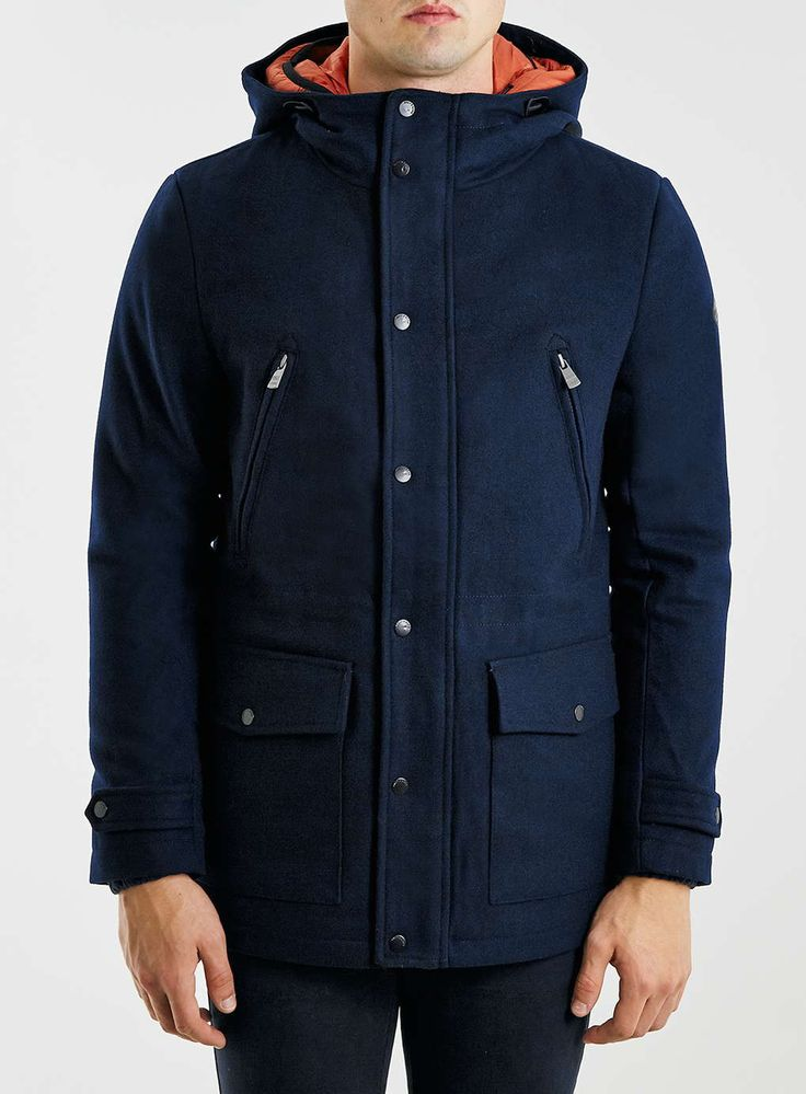 Only & Sons Navy Parka