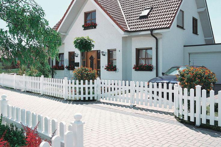 Longlife Serie CARA aus Fenster-Kunststoff, hochwertig und langlebig in Garten & Terrasse, Gartenzäune & Sichtschutzwände, Gartenzäune   eBay!