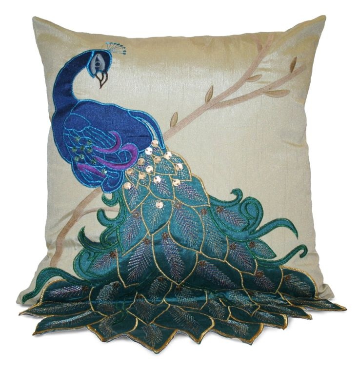 Peacock Room Design Ideas | Peacock Themed Bedroom Accessories: Thro By  Marlo Lorenz Fancy Peacock