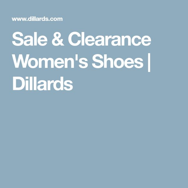 Sale & Clearance Women's Shoes | Dillards