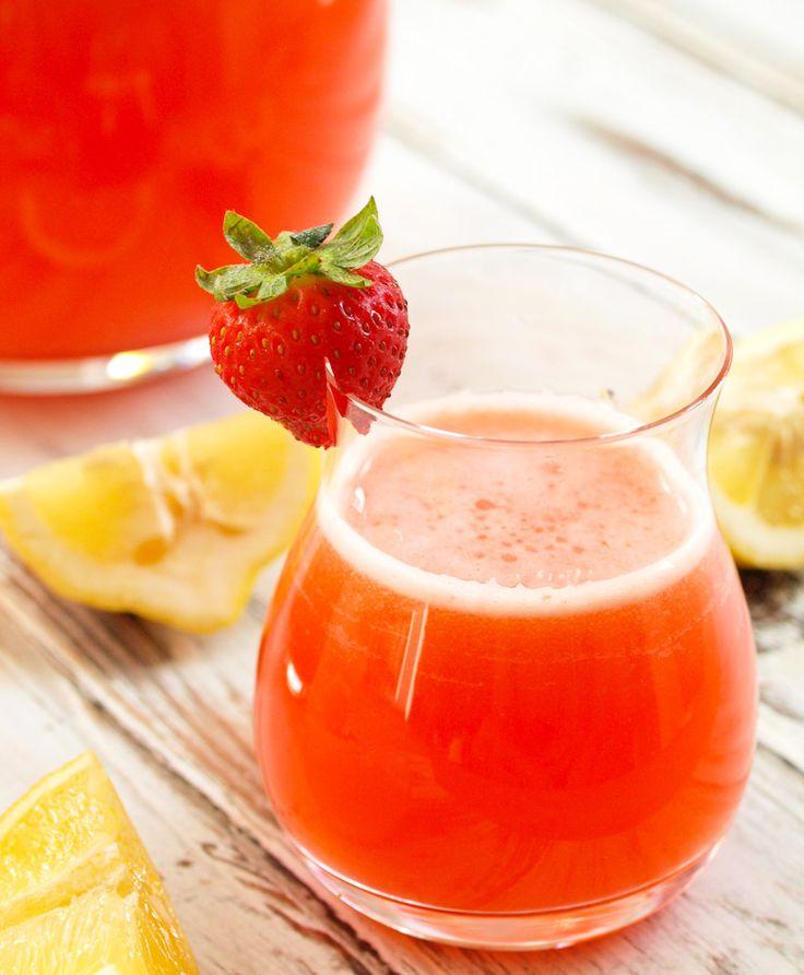 25+ best Homemade Strawberry Lemonade ideas on Pinterest ...