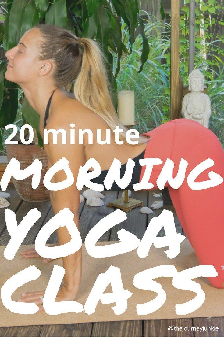 Morning Yoga Video - Energize & Awaken Your Body - Pin now, feel like a badass morning guru now!