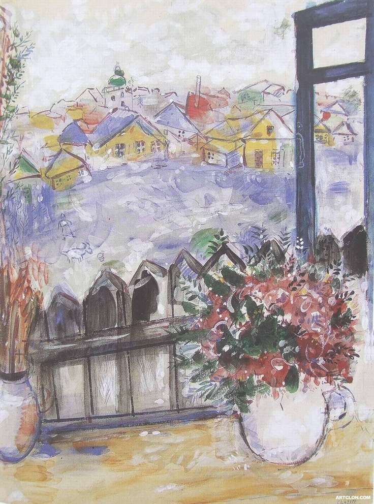 Marc Chagall - Russian Village (1929) - Google Search