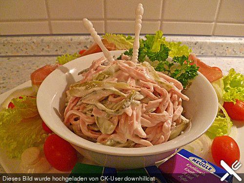 Fleischsalat (wie vom Metzger), ein tolles Rezept aus der Kategorie Fleisch & Wurst. Bewertungen: 82. Durchschnitt: Ø 4,4.