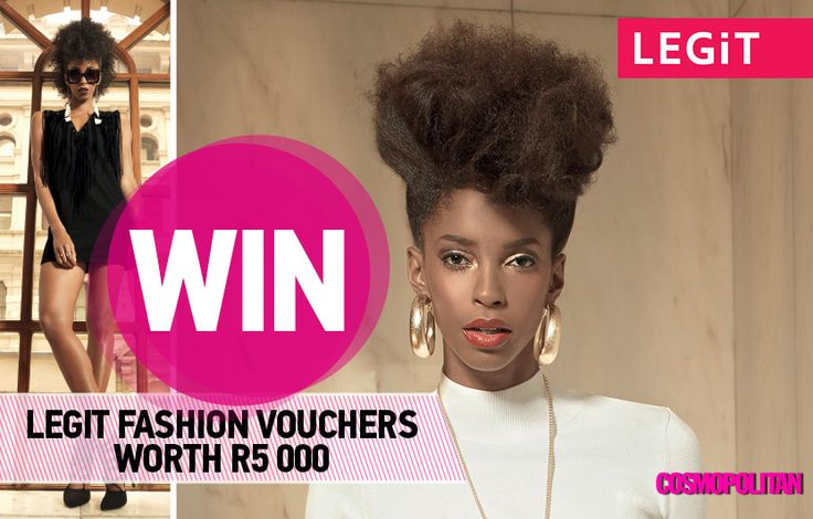 WIN 1 of 2 LEGiT Fashion Vouchers Worth R5 000