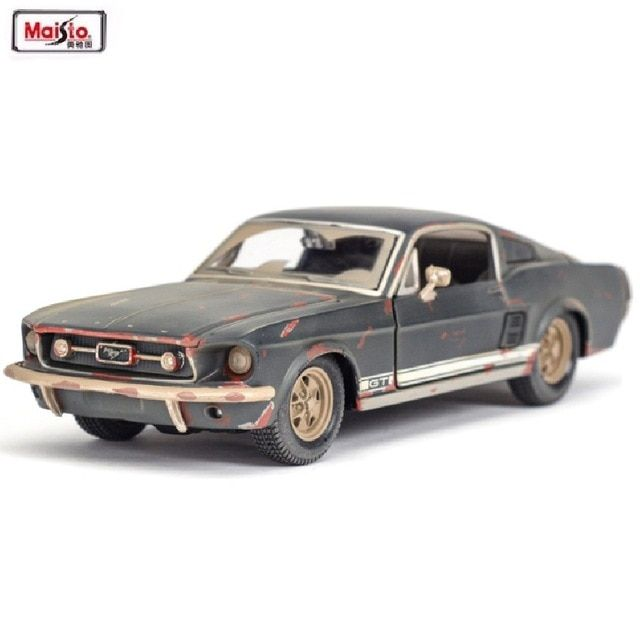 Maisto 1 24 1967 Ford Mustang Gt The Old Version Alloy Car Model