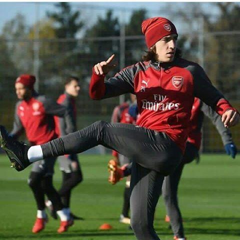 Hector Bellerin #Arsenal #training  #COYG