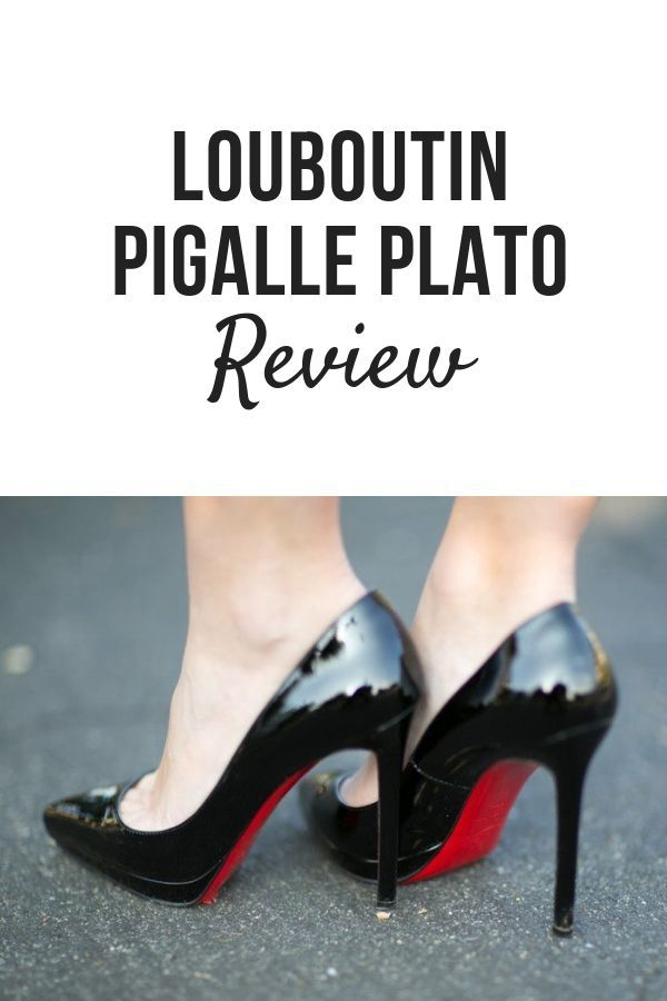 louboutin pigalle plato fit