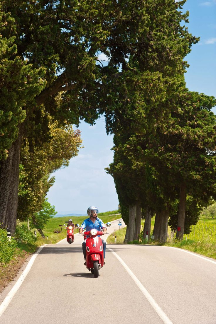 Romance is in the air with a romantic Vespa ride through the Hills of Chianti