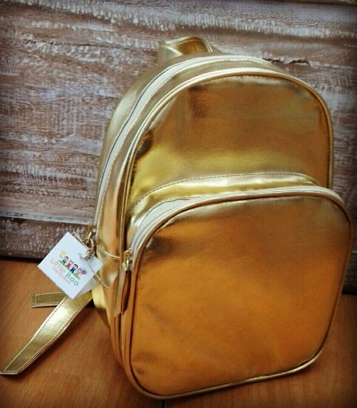 Little Boo Kids - made in  Bali - golden bag