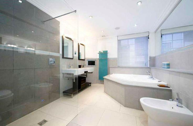 Bathroom basement flat London SW1 #cutlerandbond #basementflat #gardenflat #londonproperty