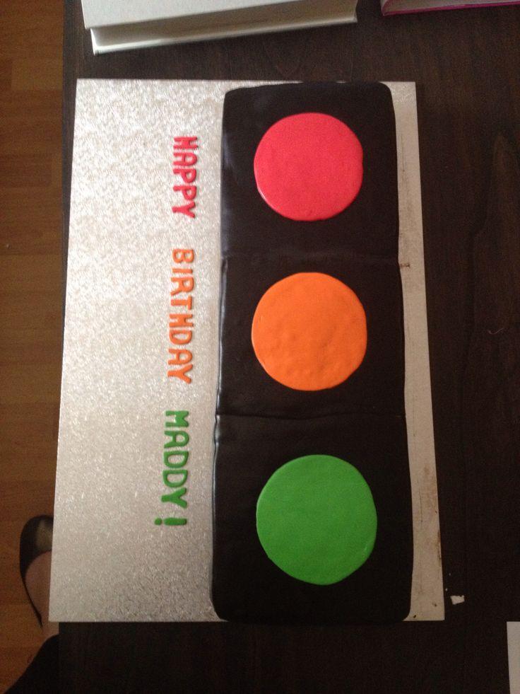 18th Birthday - Traffic Light party